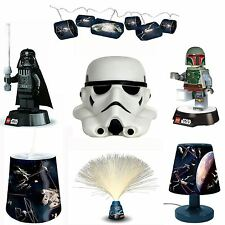 STAR WARS BEDROOM LIGHTING NIGHT LIGHT CEILING SHADE TORCH LAMP BEDSIDE LIGHT