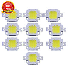 10W White High Power LED Flood light Lamp Bead SMD Chip, DC 9-12V 10Watt SMD LED