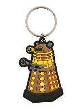 Doctor Who Dalek Rubber Keychain Dr Who Keyring 4.5x6.4cm
