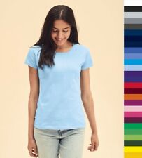 Fruit of the Loom: Damen T-Shirt, in 17 Farben * Fit Valueweight T 61-372-0  NEU