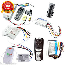 1/2/3/4/5 Way Remote Control Switch ON/OFF Lamps/Fan or Any Other Loads-AC 220V