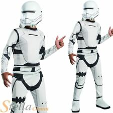 Boys Star Wars Force Awakens Episode 7 Flametrooper Fancy Dress Costume Outfit