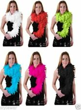 New Ladies Luxurious Feather 1920's Burlesque Gangster Boa Fancy Hen Night Party