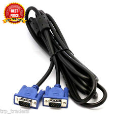 15 Pin Male to Male High Quality VGA Cable for PC / Monitor / TV / LCD / LED