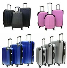 Hard Shell 4 Wheel Spinner Suitcase Case Luggage Trolley Cabin Carry On 4COLOURS