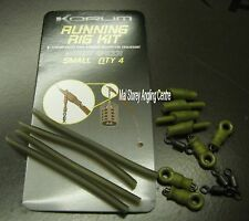 Korum Small Running Rig Kit Flood Water Brown Or Weedy Green