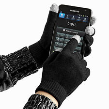 Mens Ladies Beechfield Touchscreen Phone and Tablet Smart Winter Warm Gloves