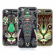 HEAD CASE DESIGNS AZTEC ANIMAL FACES 2 SOFT GEL CASE FOR APPLE iPOD TOUCH MP3
