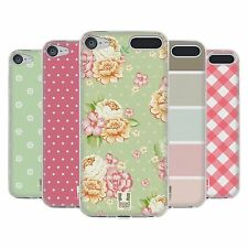 HEAD CASE DESIGNS FRENCH COUNTRY PATTERNS SOFT GEL CASE FOR APPLE iPOD TOUCH MP3