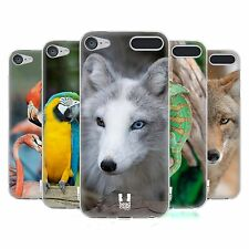 HEAD CASE DESIGNS FAMOUS ANIMALS SOFT GEL CASE FOR APPLE iPOD TOUCH MP3