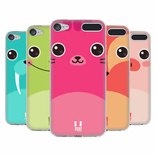 HEAD CASE DESIGNS CARTOON ANIMAL FACES 3 SOFT GEL CASE FOR APPLE iPOD TOUCH MP3