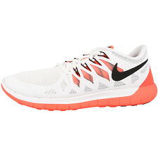 NIKE FREE 5.0 WOMEN'S SHOES RUNNING SHOES WHITE MANGO 642199-103 RUN 5.0+ 4.0
