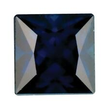 Natural Fine Deep Blue Sapphire - Square Princess - Africa - Select Grade