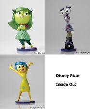 "Disney Showcase ""Inside Out"" Emotions Figurines - Anger Fear Disgust Sadness Joy"