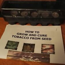 TOBACCO PLANT GROW KIT starter kit or seeds GOLDEN VIRGINIA propagator #tobacco