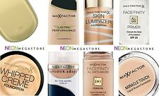 Max Factor Foundation - Colour Adapt / Facefinity / Lasting Performance & More..