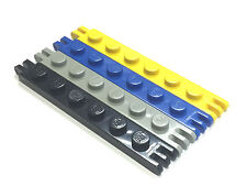 LEGO 4504 1X6 Hinge Plate w fingers On Ends 2/3 - Select Colour - P&P FREE!