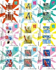 London 2012 Olympic Sports Pin Badge & Sport Stamp Pack Royal Mail Many Sports
