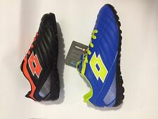 SCARPA LOTTO  PLAY OFF TF JR CALCETTO TURF RAGAZZO  blu VERDE o nero arancio