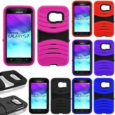 For Samsung Galaxy S7 G930 Tough Protection Defender Case Armor Box Cover Stand