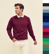Fruit of the Loom: Herren dicker Basic Pullover ** Raglan Sweatshirt ** NEU