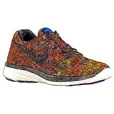 Nike Flyknit Lunar 3 - Men's Running Shoes (Racer BL/Total Crimson/Volt/BK Widt