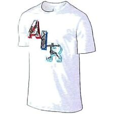 Jordan #AIR Basketball T-Shirt - Men's (White/Soar)