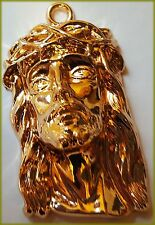 Ecce Homo Jesus Passion Pendant for Necklace  18K Gold Plated 925 Silver Plated
