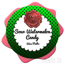 SOUR WATERMELON CANDY wax melts highly scented handmade wax tarts for wax burner