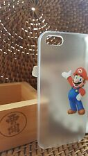 MARIO BROSS- Transparent hard back MOBILE Case Cover Phone iPhone 4/4S 5C