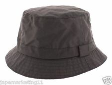 b76d5864f93 Mens 100% Wax Cotton Bucket Rain   Fishermans Hat - Made in England