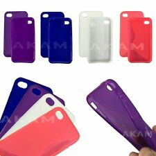 TPU S-LINE WAVE SOFT SILICON RUBBER GEL SKIN CASE COVER FOR iPHONE 5S 5G