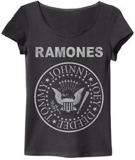 Amplified - Ramones Seal Logo Damen T-Shirt (Grau) (S-L)