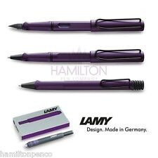 LAMY SAFARI 2016 SPECIAL - DARK LILAC! FOUNTAIN PEN, BALLPOINT, ROLLERBALL & INK