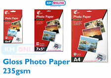 "6x4""/7x5""/A4 Gloss Photo Paper Popular Size Inkjet Printer Premium Quality Paper"