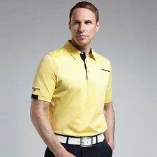 "GLENMUIR RILEY LUXURY PIPING DETAIL GOLF POLO SHIRT ""NEW FOR SUMMER 2016"""