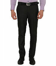 Donear NXG Men's Custom Fit Coffee Formal Trouser
