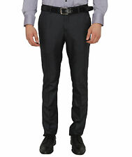 Donear NXG Men's Custom Fit Navy Blue Formal Trouser