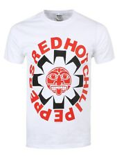 Red Hot Chili Peppers Aztec Men's White RHCP T-shirt