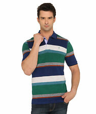 Donear NXG Green Colour Striped T-Shirt