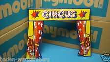 Playmobil Vintage Rare Brazil Exclusive Circus Bell Entrance Sign wall 144