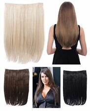 """KOKO DOLCE 18"""" LONG STRAIGHT HEAT RESISTANT HAIR EXTENSIONS CLIP IN SYNTHETIC"""