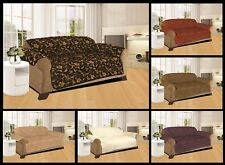 JACQUARD SOFA SLIP COVER / SOFA PET PROTECTOR (QUILTED)  IN 3 SIZES NEW ARRIVAL