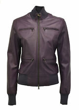 GIUBBINO IN VERA PELLE VIOLA LUCY DONNA WOMAN REAL LEATHER JACKET