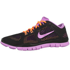 NIKE FREE 5.0 TRAINER FIT 4 WOMEN'S RUNNING SHOES BLACK VIOLET 629496-002 RUN