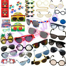 "UNISEX ADULT SUNGLASSES AVIATOR WAYFARER STYLISH 80""s RETRO GEEK WIZARD GLASSES"