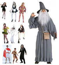 New Ladies Mens Halloween Witch Sexy Nurse Caveman Hen Fancy Dress Party Costume