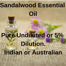 Essential Oil Sandalwood Amyris, Indian, Australian, Pure or Dilute FREE P&P