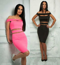 By Alina Ladies Dress Pencil Dress Skirt Dress Cut Out Cocktail Dress Neon