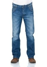 Mustang Herren Jeans Michigan Straight  - Blau - Light Scratched Used